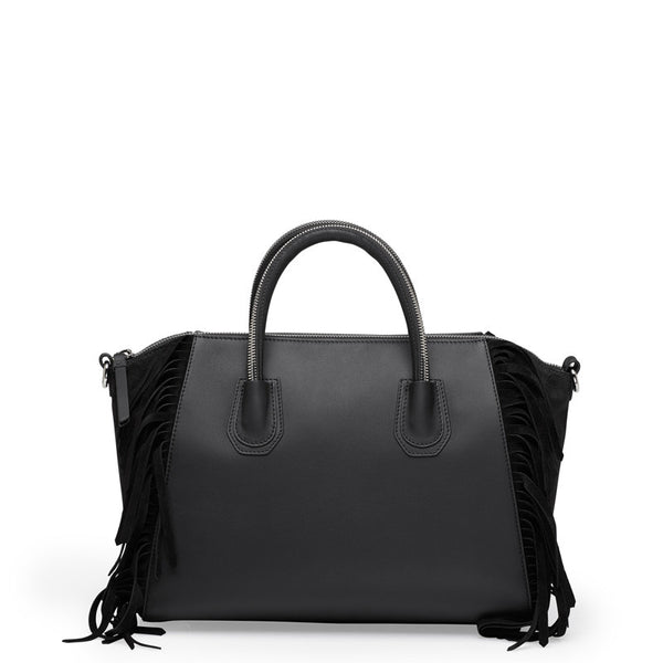 Holly black silver bag