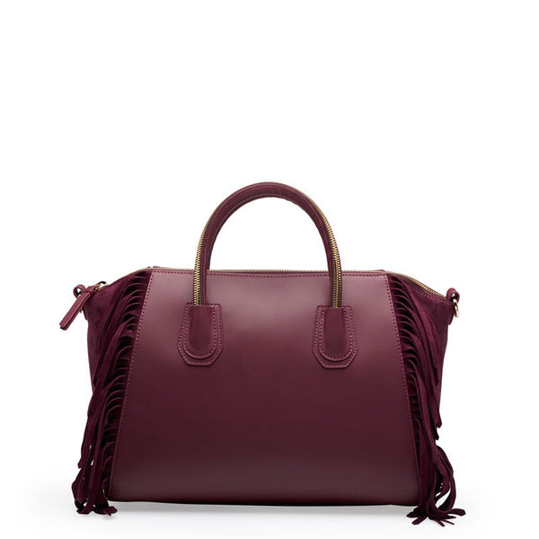 Holly wine/red gold bag
