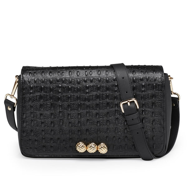 Harper black gold bag