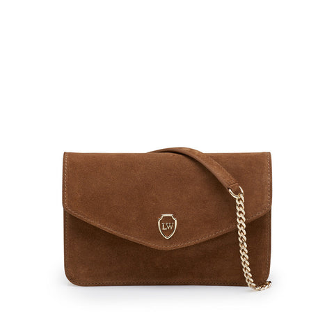 Havva cognac gold bag