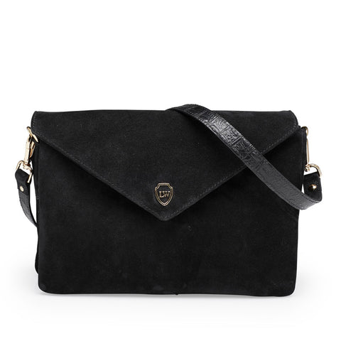 Hayley black gold bag