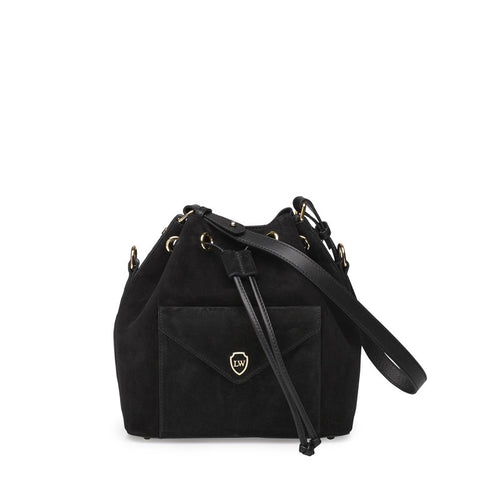 Morgan black gold bag
