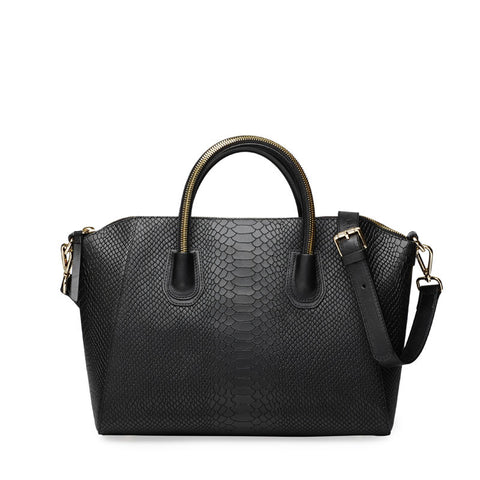 Anaconda black gold bag