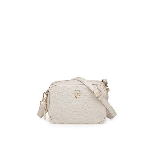 Milo ivory gold mini bag