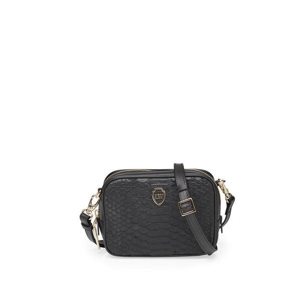 Milo black gold mini bag