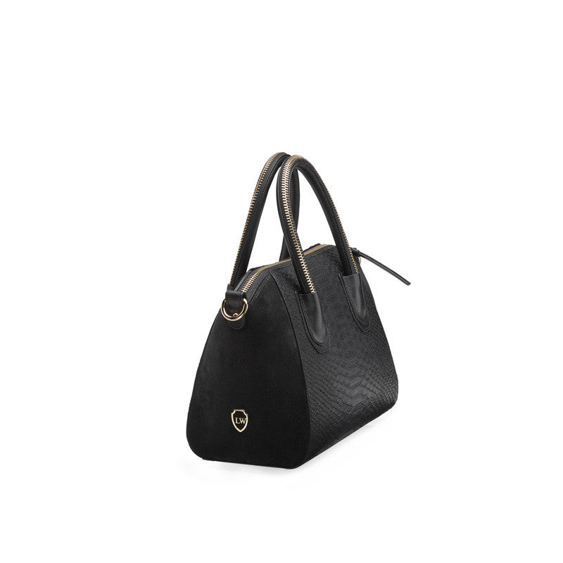 Monte black gold bag