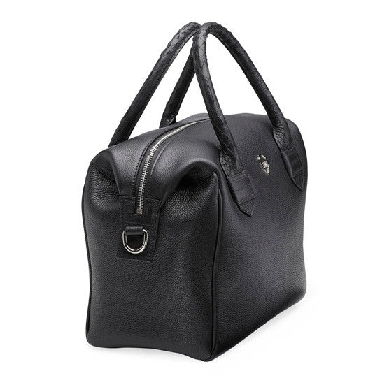 Malcolm black silver bag