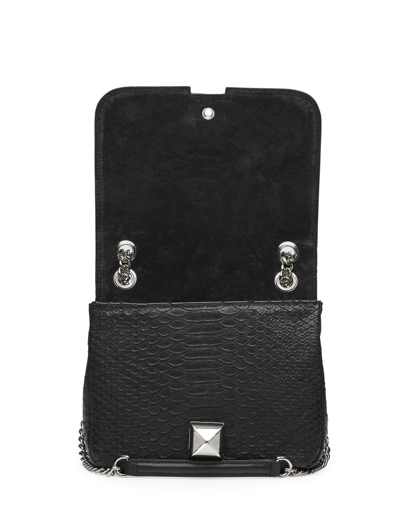 Mavrick black silver bag