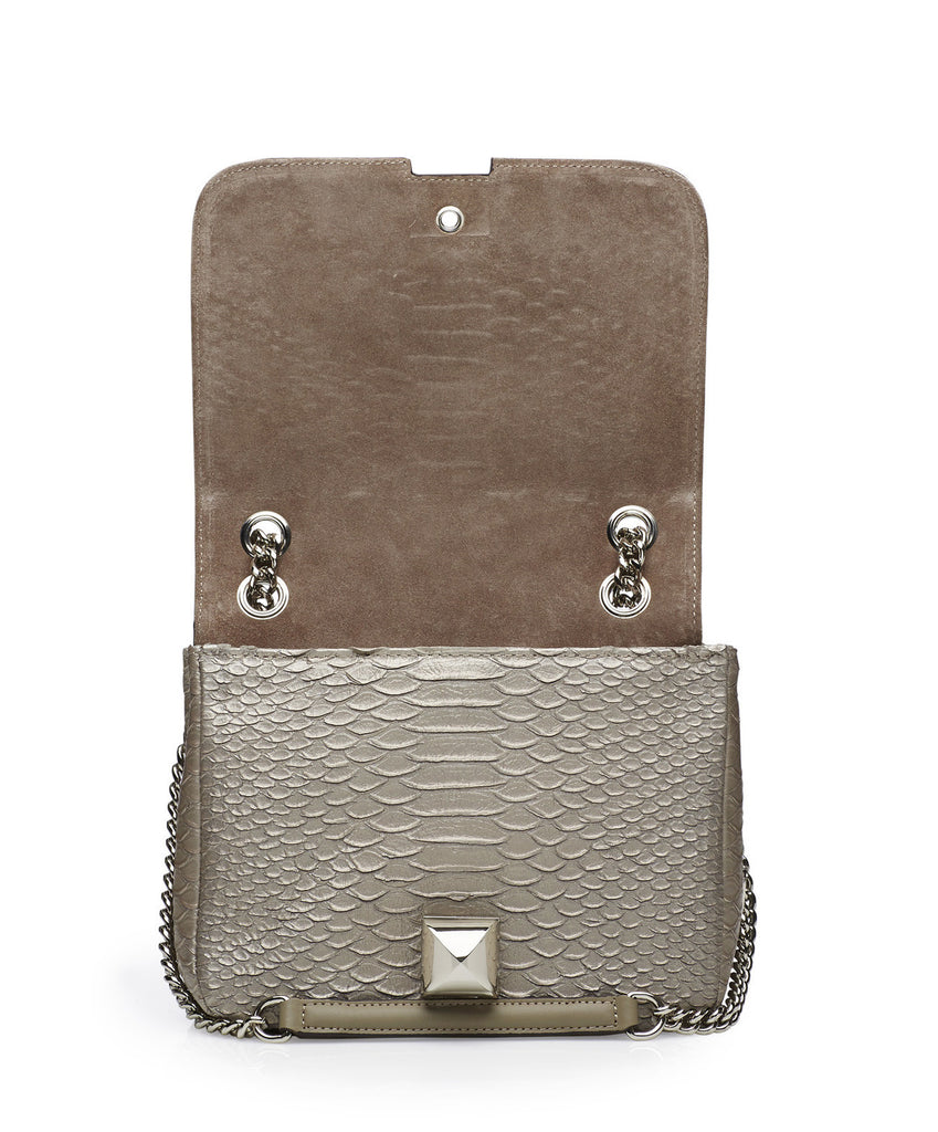 Mavrick anthracite silver bag