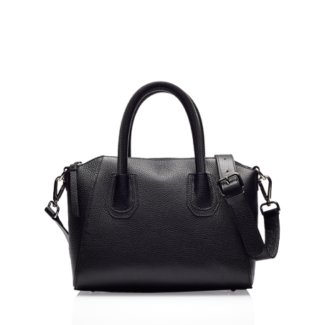 Lion black silver bag