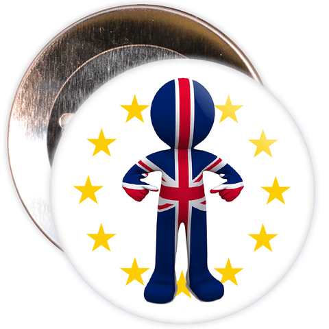 GB Brexit European Badge