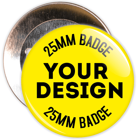 25mm Custom School Badges