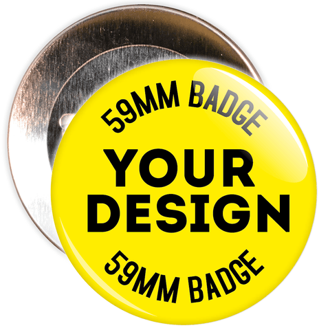 59mm Custom School Badges