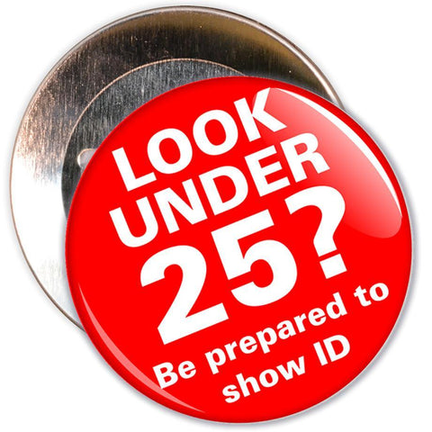 Challenge 25 Badges - Look Under 25?