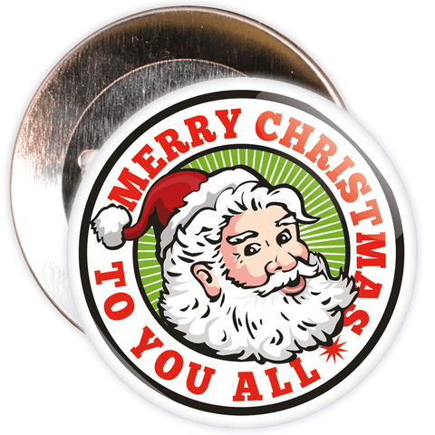 Merry Christmas Santa Badge