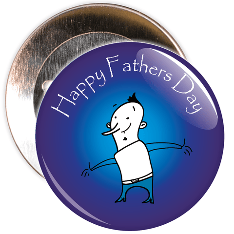 Happy Father's Day Badge