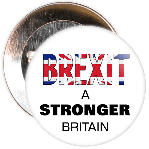 Brexit A Stronger Britain EU Badge