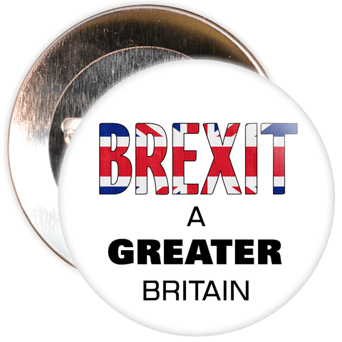Brexit A Greater Britain EU Badge