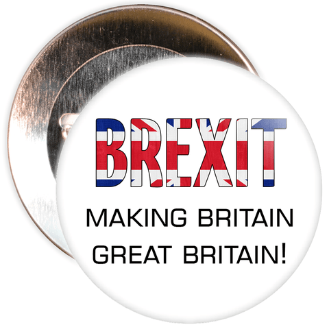 Brexit Making Britain Great Again EU Badge