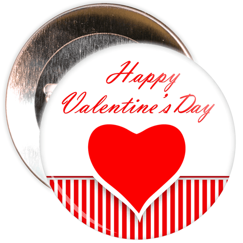 Happy Valentine's Day Badge