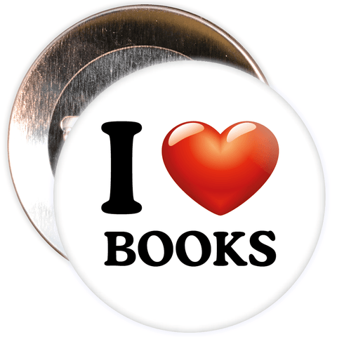 I Love Books Badge