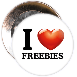 I Love Freebies Badge
