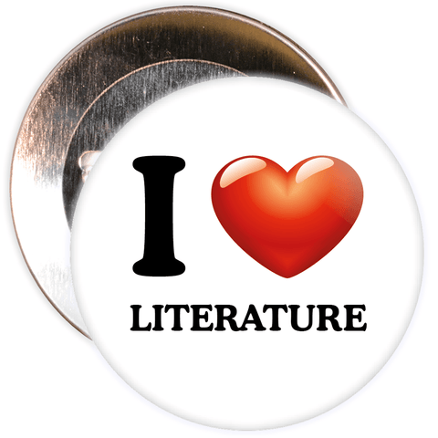 I Love Literature Badge