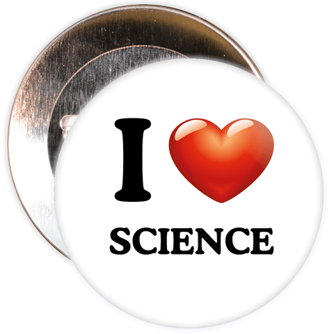 I Love Science Badge