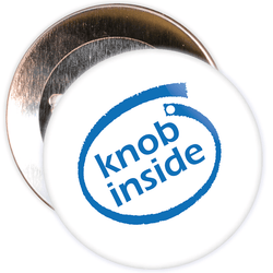 Knob Inside Badge