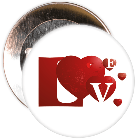 Love Valentine's Day Badge