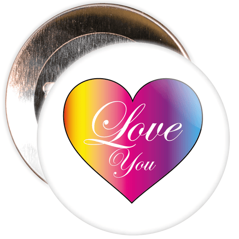 Love Heart Valentine's Day Badge