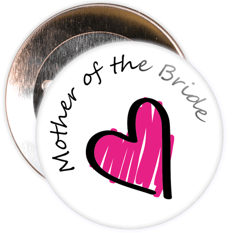 Mother of the Bride Hen Badge
