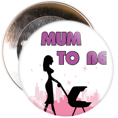 Mum to Be Mother's Day Badge