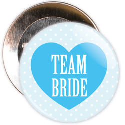 Pink Classy Team Bride Hen Party Badge