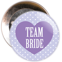 Classy Team Bride Hen Party Badge