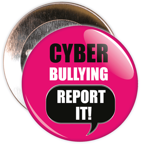 Cyber Bullying Report It Badge