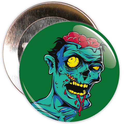 Zombie Halloween Badge