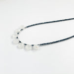 Moonstone Quarter Ruffle Necklace