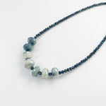 Leilia Blue Moonstone Necklace