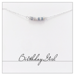 Birthday Girl Necklace