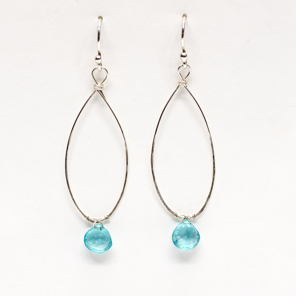 Load image into Gallery viewer, Linden Apatite Earring