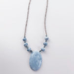 Sale Botswana Agate Pendant Necklace