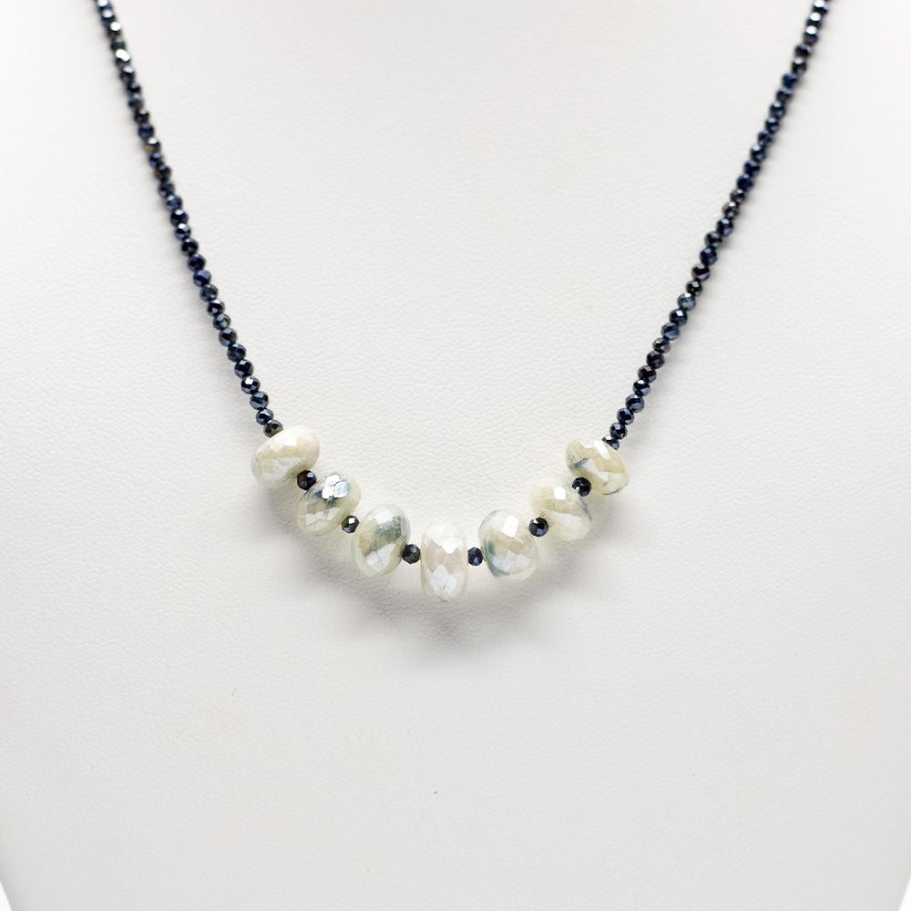 Load image into Gallery viewer, Blue Moonstone Leilia Necklace