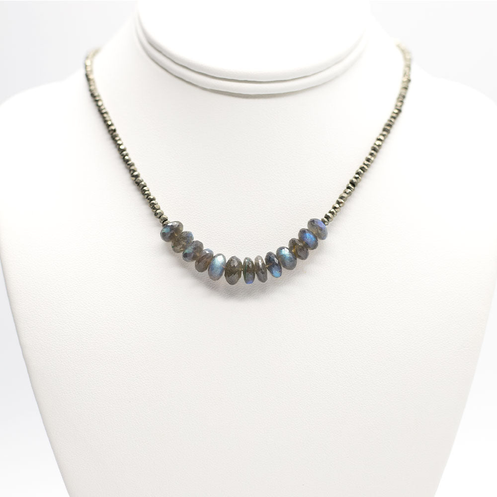 Leilia Labradorite Necklace