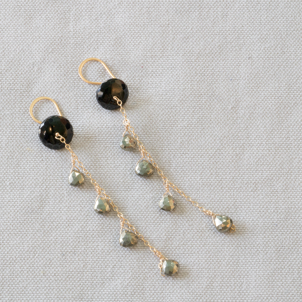 Cascade Spinel Earrings
