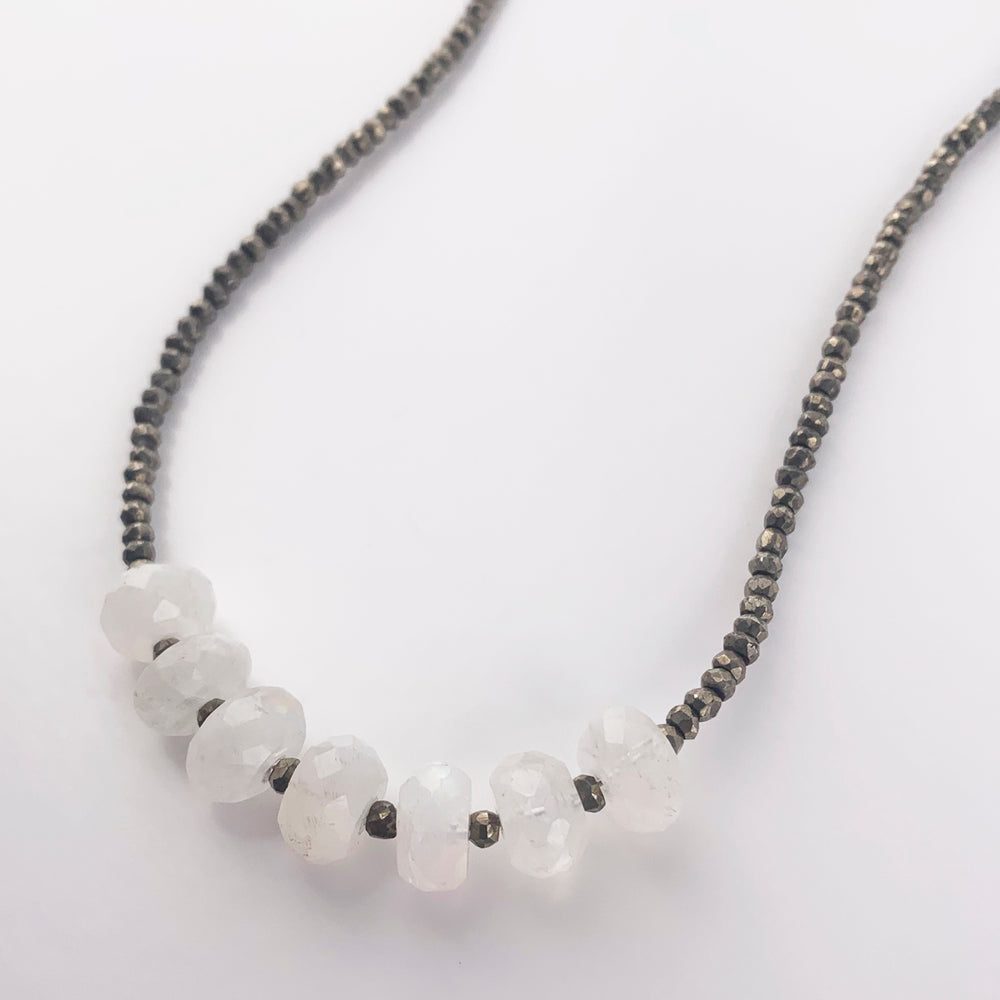 Leilia Moonstone Necklace
