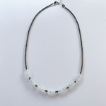 Moonstone Iris Necklace
