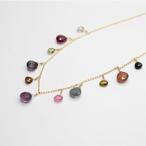 Load image into Gallery viewer, Tourmaline Charm Necklace