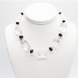 Load image into Gallery viewer, Rutilated Quartz Nugget Necklace