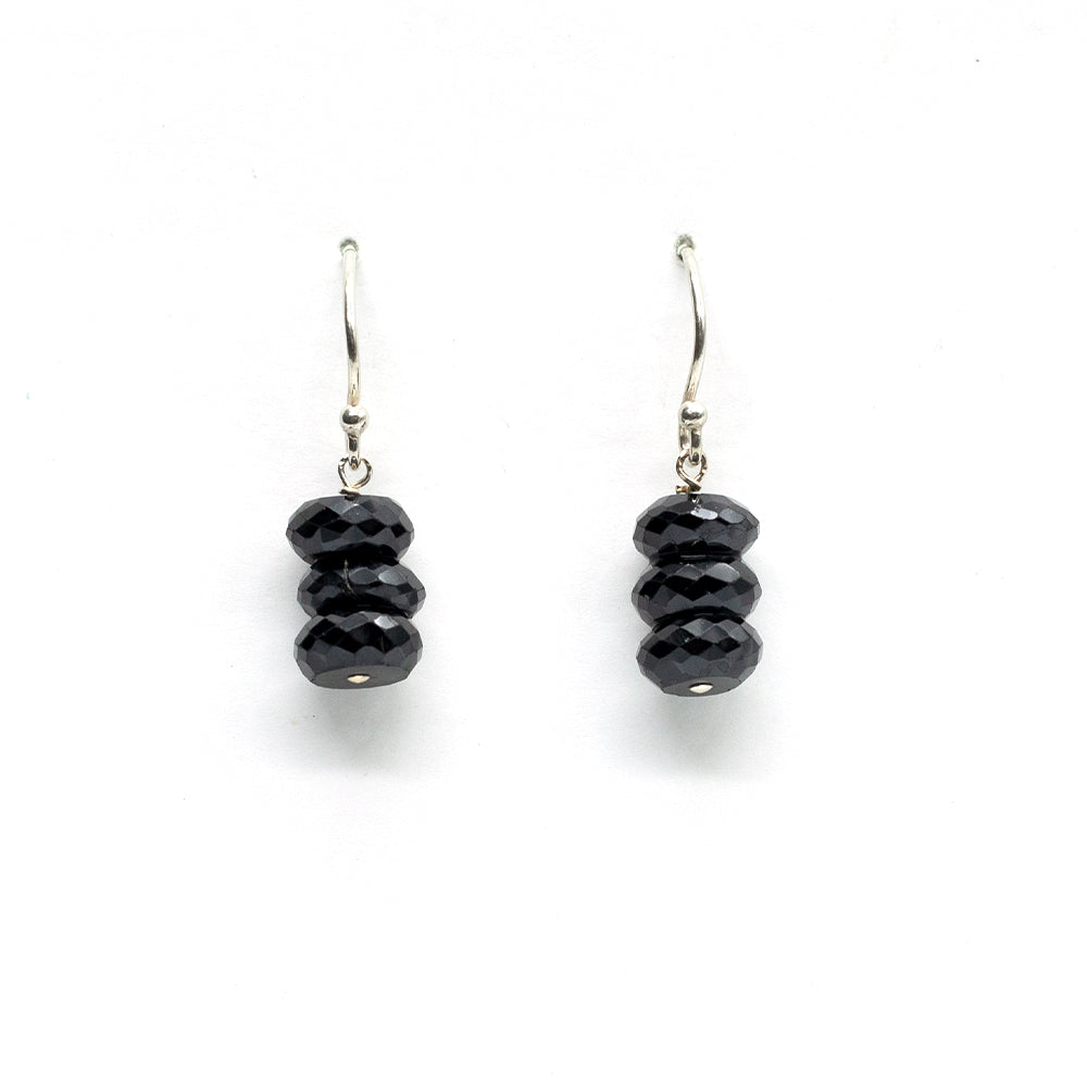 Spinel Barrel Earrings